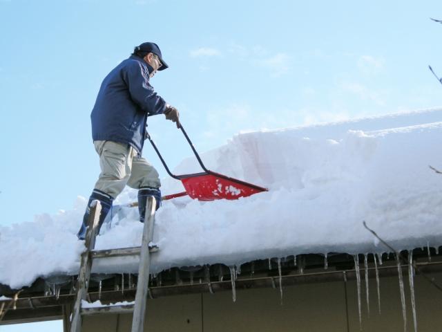 雪が降った翌日対策をしてくださいね。