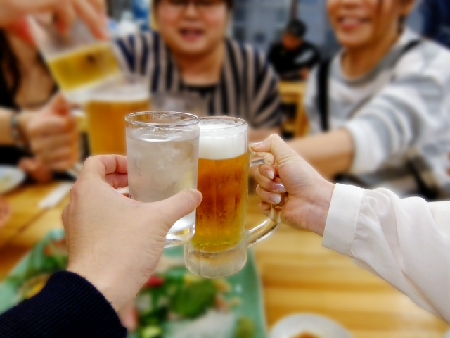 食欲の秋だからこそ、アルコールの過剰摂取になっていないかを見直しましょう!!